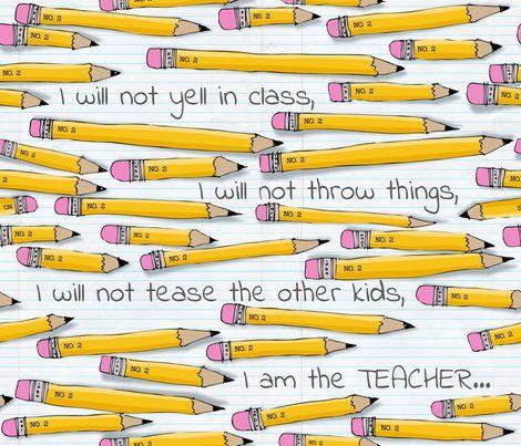 no. 2 pencil - teacher