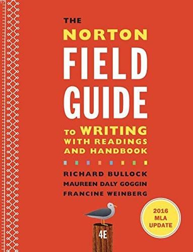 the norton field guide to writing with 2016 mla update 4th edition pdf