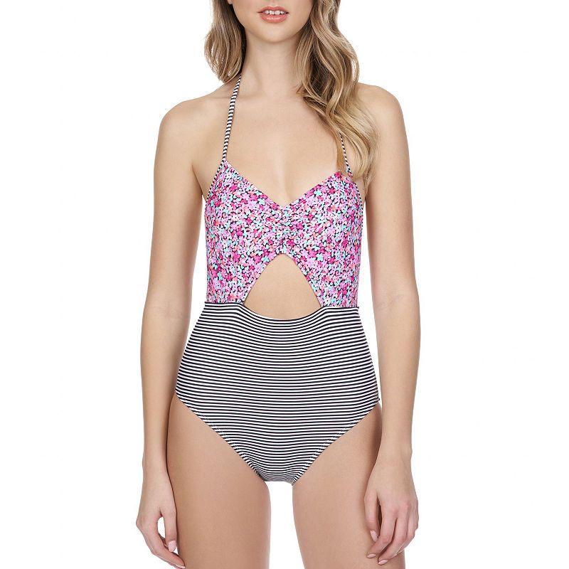 7234f44e9dbdb Arizona Floral One Piece Swimsuit Juniors