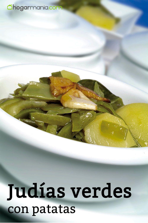 Receta De Judías Verdes Con Patatas Karlos Arguiñano Receta Cocer Judias Verdes Verduras Judias Verdes