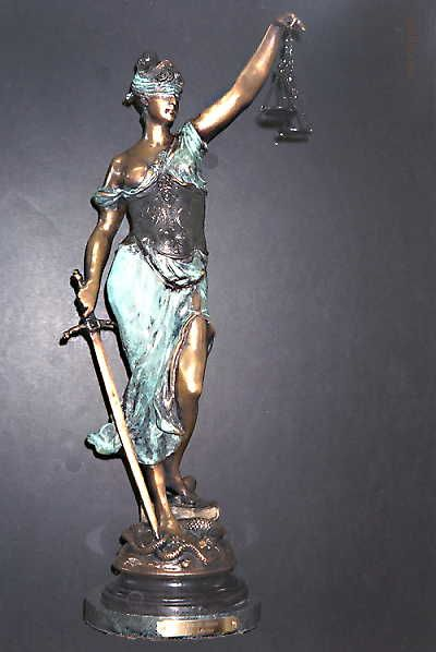 Image result for Lady Justice sculpture