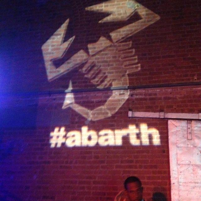 #espn NFL Pre-draft party! #fiat #fiat500 #abarth