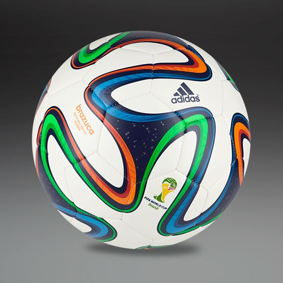 8cc297e629 adidas Brazuca Competition Ball (White Night Blue Multicolor) Soccer Reviews  For You