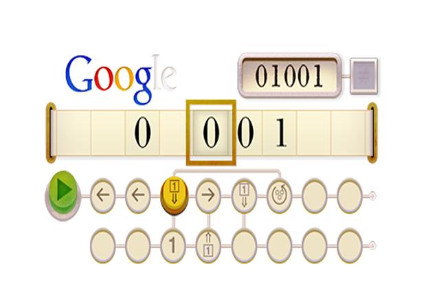 Google for Alan Turing Best google doodles, Google