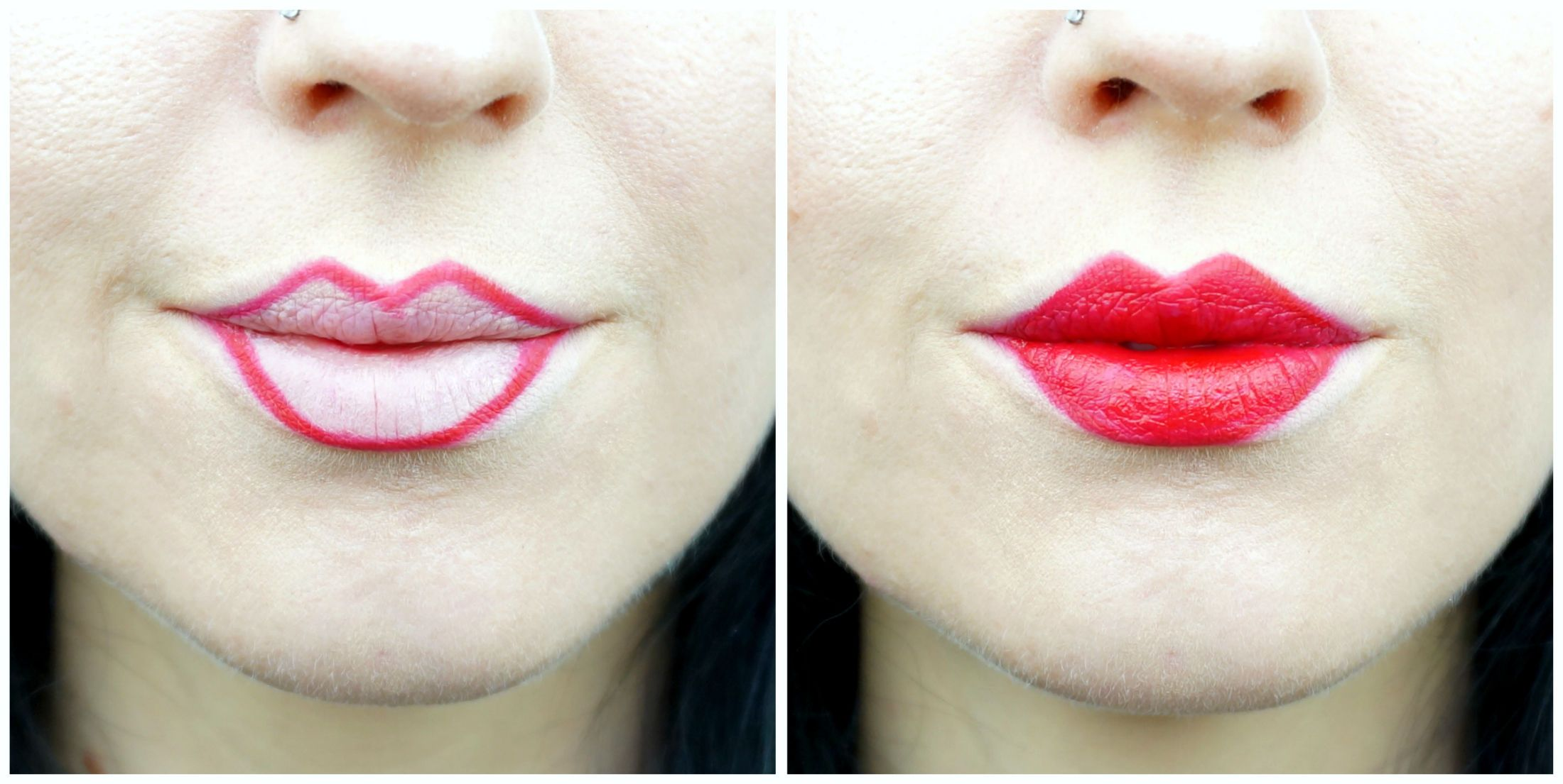 3 Ways To Draw On Bigger Or Smaller Lips Small Lips Lip