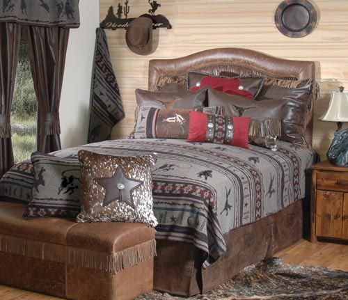 Laramie Deluxe Bedding Set, another luxury bedding set perfect for a