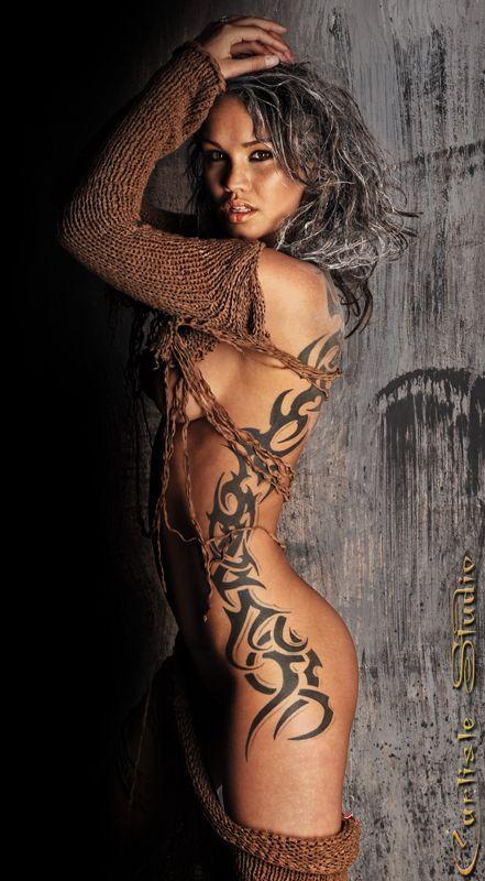 Sexy tribal tattoos