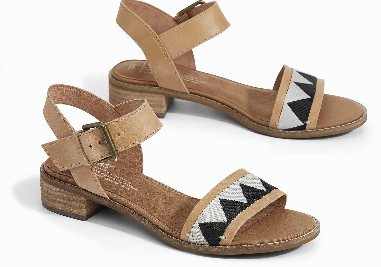 522b4ebf20c2 Toms Honey Leather Women s Camilia Sandals - 5.5