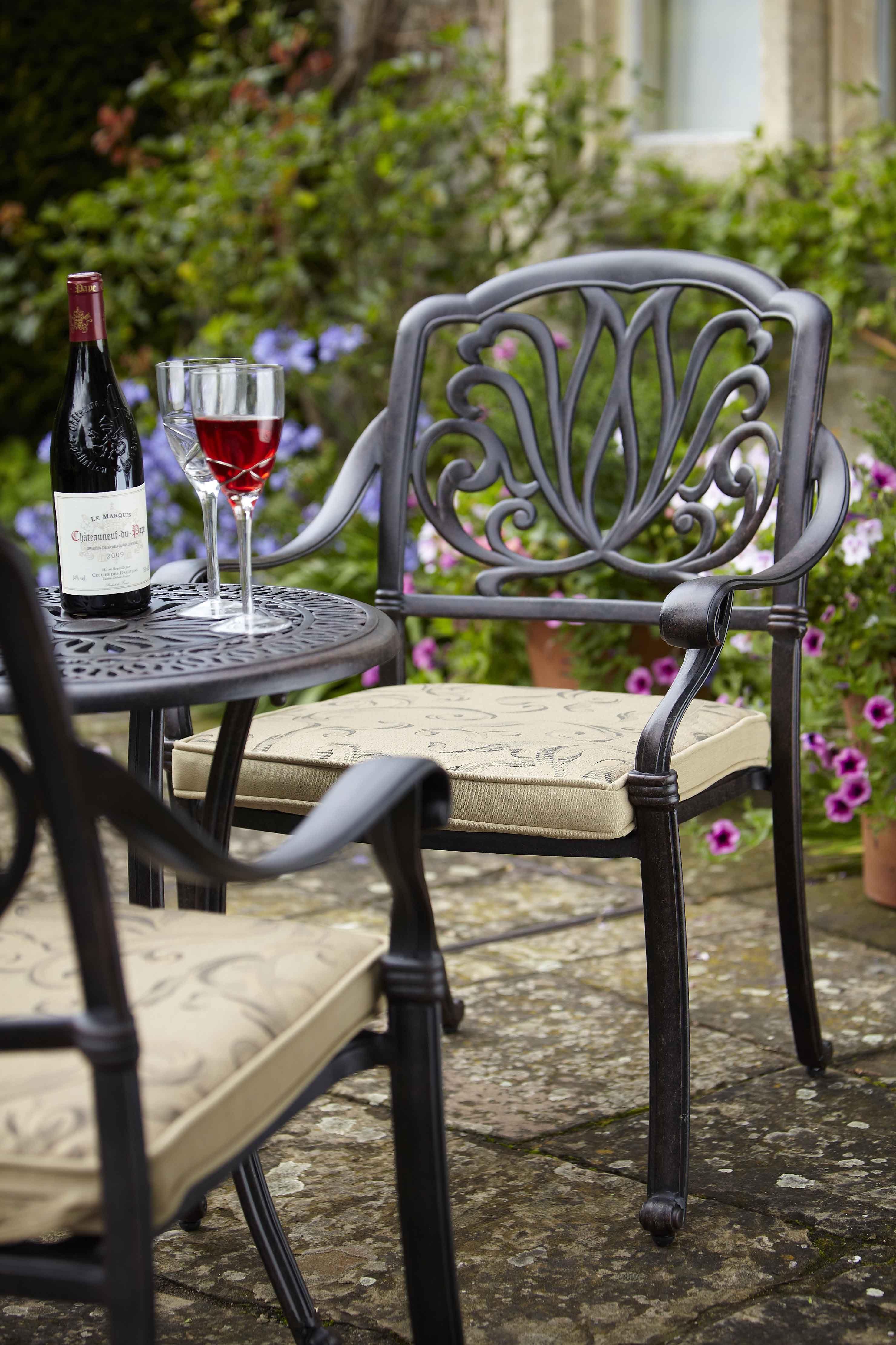 Amalfi Bistro Set | Hartman Cast Aluminium Garden Furniture ...