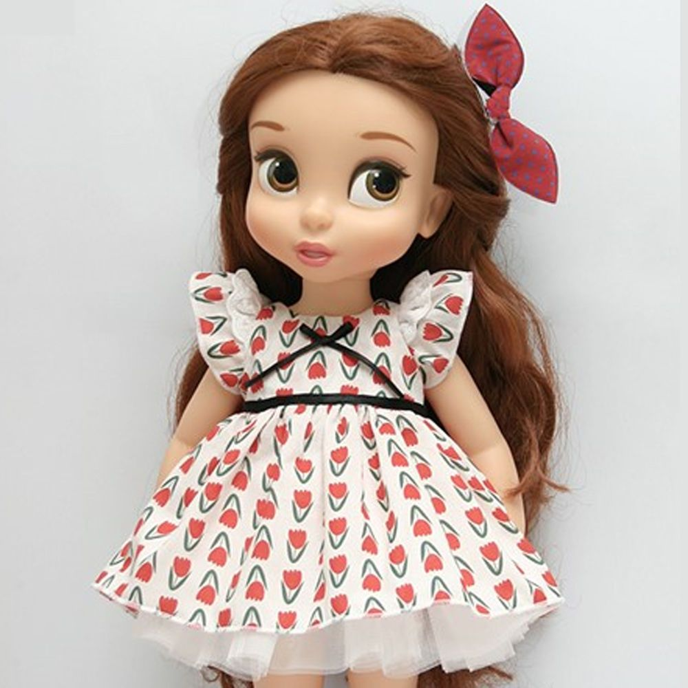 Disney Princess Doll Clothes: Disney Baby Doll Clothes Dress Clothing Red Flower