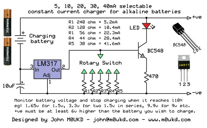 Alkaline Battery Charging Circuit Alkaline Battery Circuit Battery