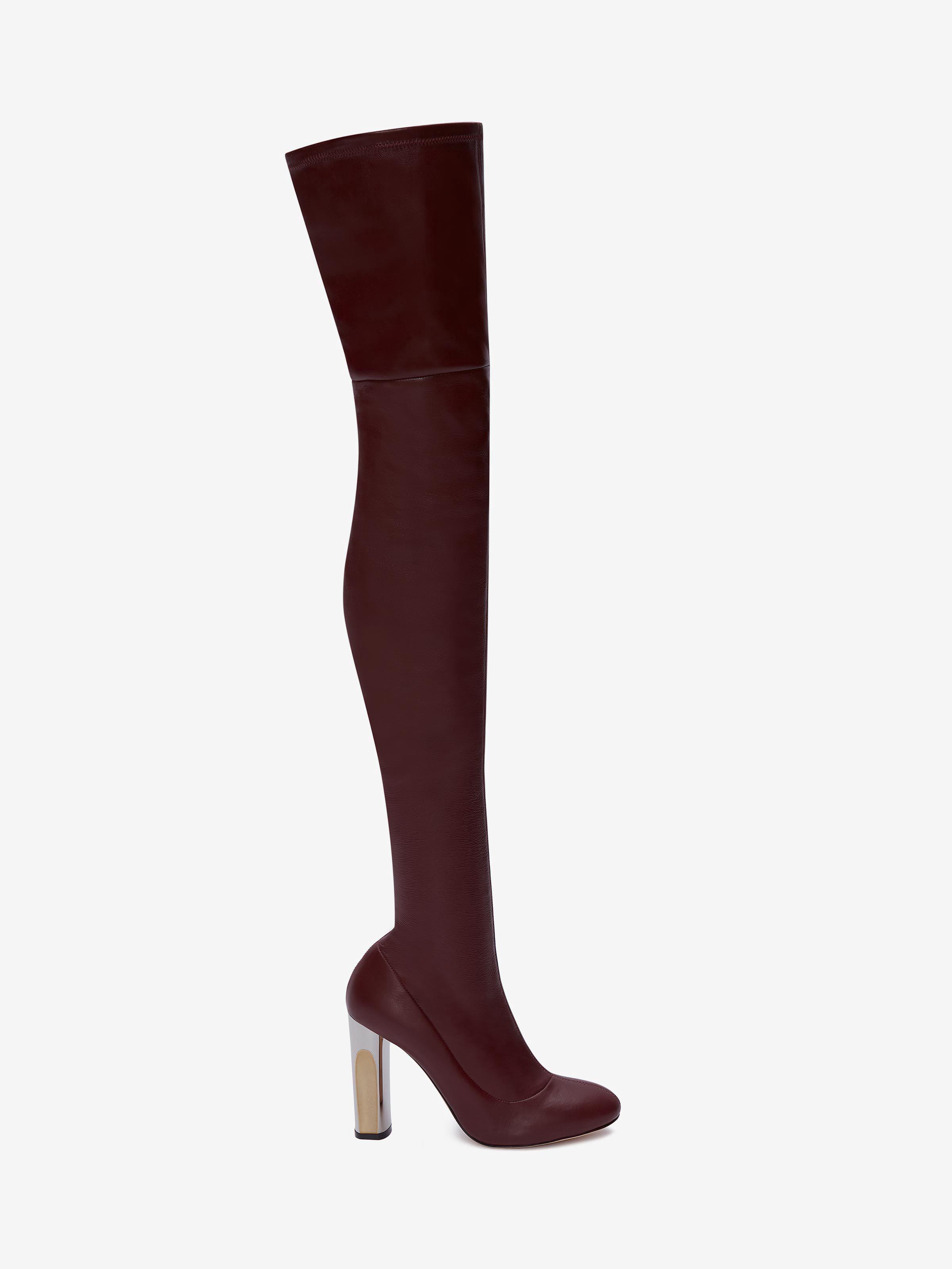 Stretch suede pump 'sculpted' heel | Scarpe