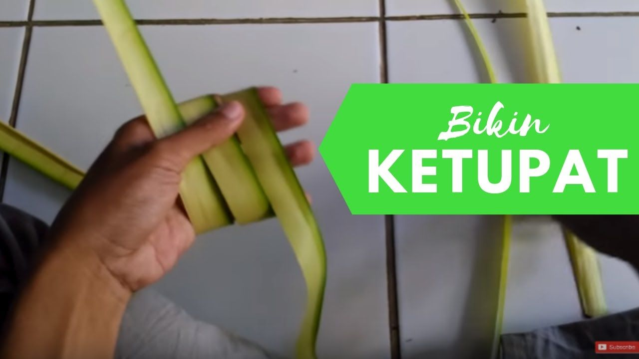 Membuat Ketupat Dari Daun Kelapa Janur Belajar Kelapa Tahu