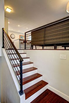 Stairs Modern Bilevel Kitchen Split