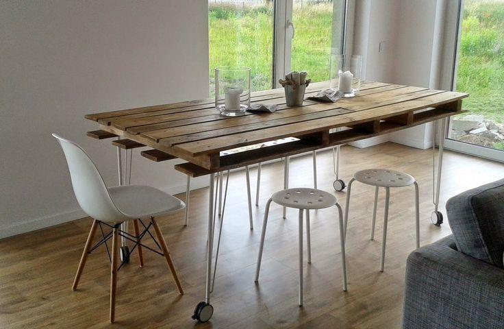 Mesa comedor con palets - Descubre los diferentes tipos de mesas que ...