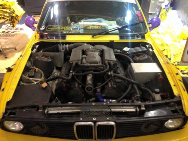 BMW E30 with a Supercharged M62 | Engines | Bmw e30, E30, Bmw