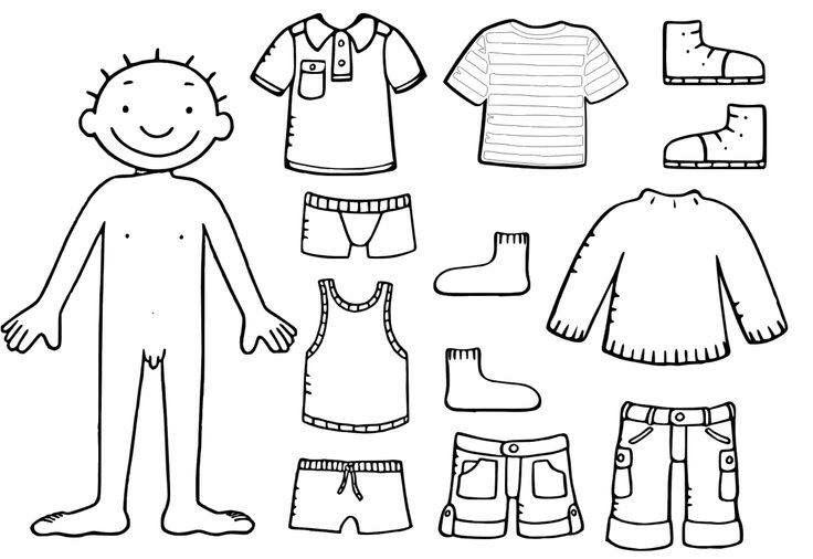 jules kleren blanco lichaam peuter thema thema