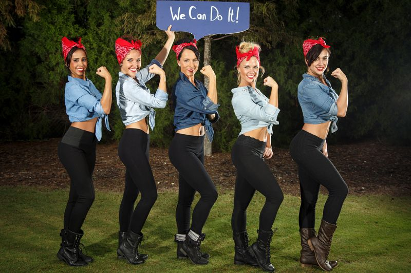 10 Group Costumes For Your Ladygang  Group Halloween -4100