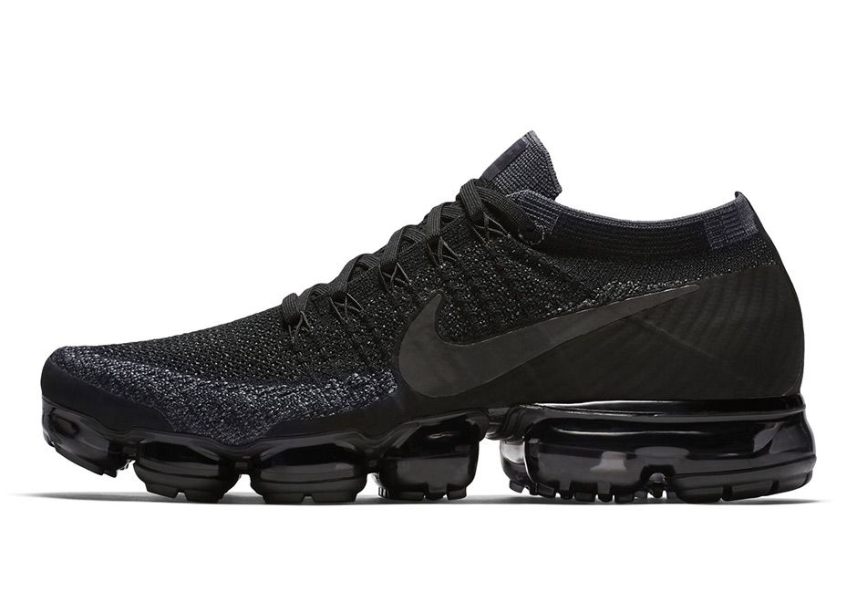 NikeLab Air VaporMax Flyknit Triple Black *GUARANTEED AUTHENTIC* Off Collector's