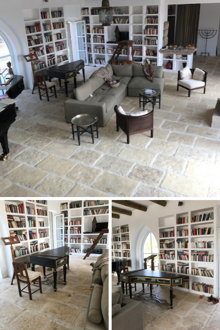 Carrelage D'une Maison Au Portugal En Dallage Authentique