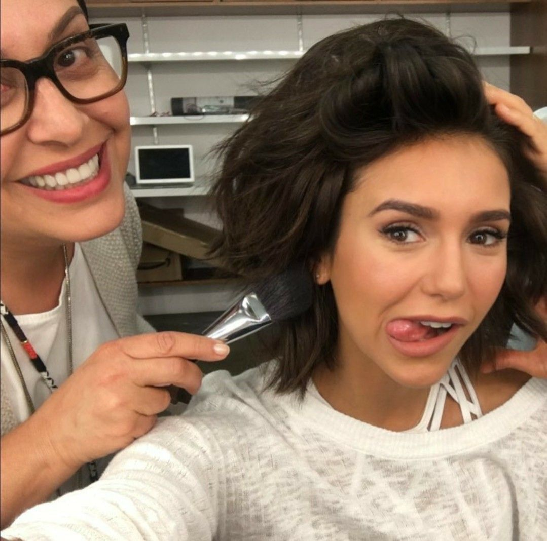 Pin by lindy peters on nina dobrev pinterest nina dobrev and natural eye makeupnatural eyesnatural eyebrowssubtle makeupsoft makeupnatural lookshair and beautyhair and makeupbeauty makeup baditri Choice Image