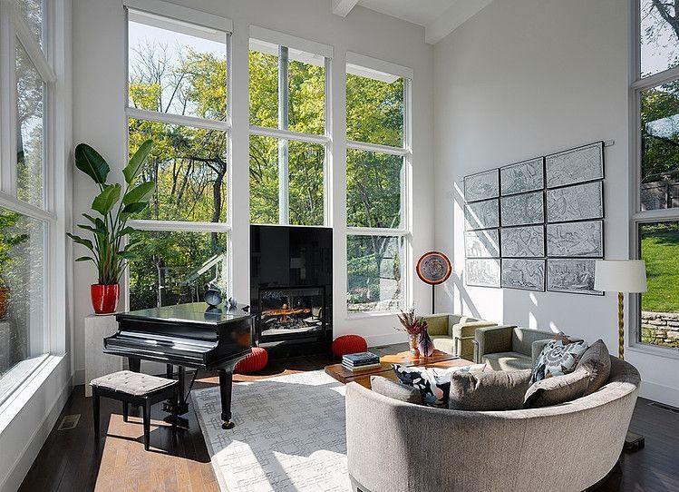 Keller Kimbrew Residence By Keller Studio Homeadore Contemporary Home Decor Contemporary House Design Luxe Living Room