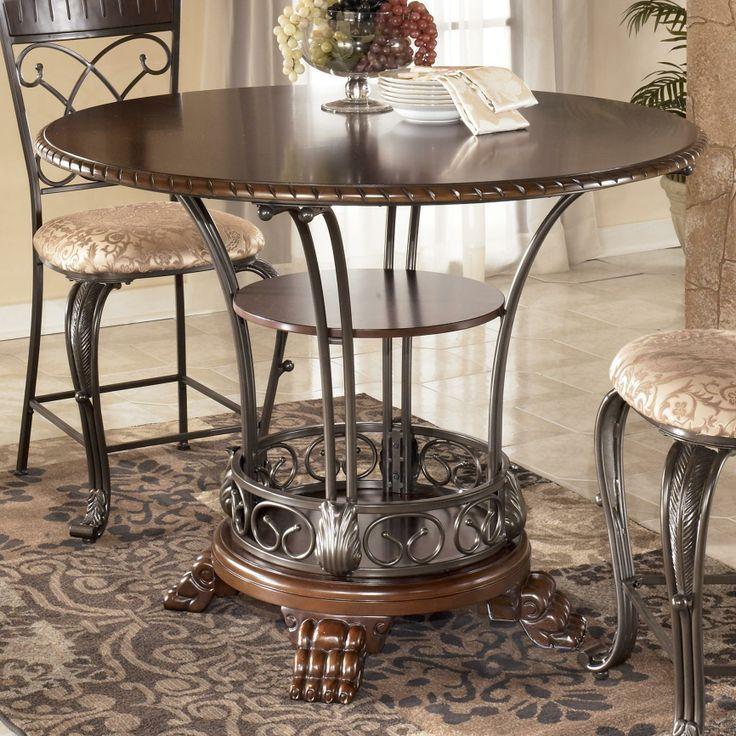 ashley glass coffee table set