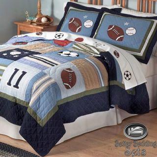 Sport Football Quilt Theme Bedding Set For Twin Full Queen Size Boys Sports Bedding Sports Bedding Sport Bedroom