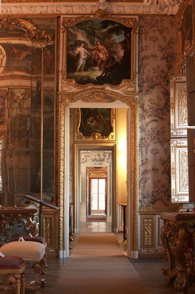 Villa della Regina Torino Grandi saloni, Terrazza