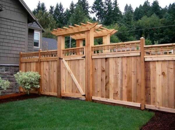 19 id es de cl tures de jardin en palette palettes fence pallet fence et backyard fences - Cloture de jardin en palette ...