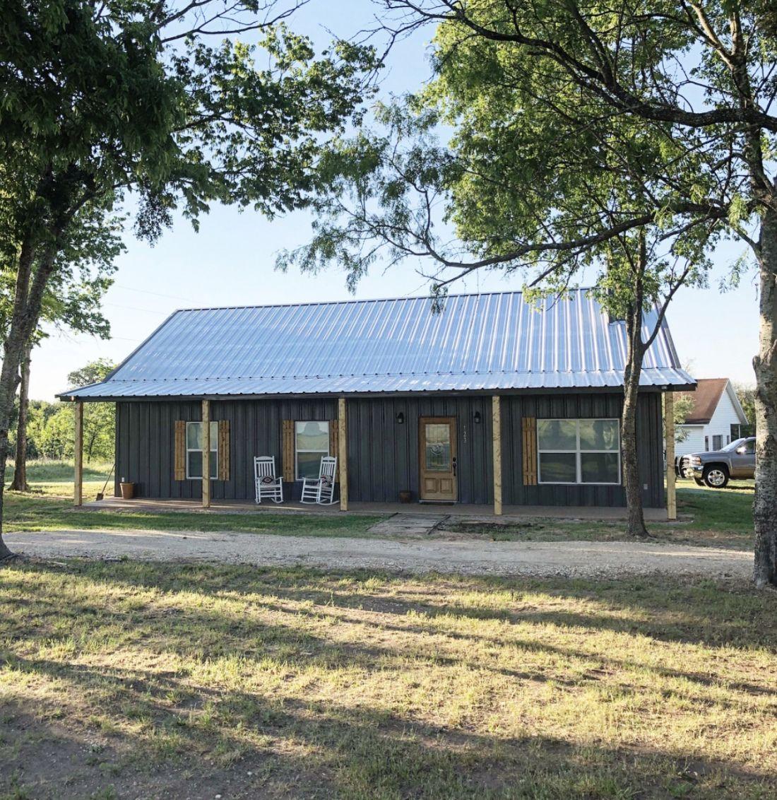 Barndominium Budget Hunt Farmhouse In 2020 Pole Barn House Plans Barn House Plans House Plans Farmhouse