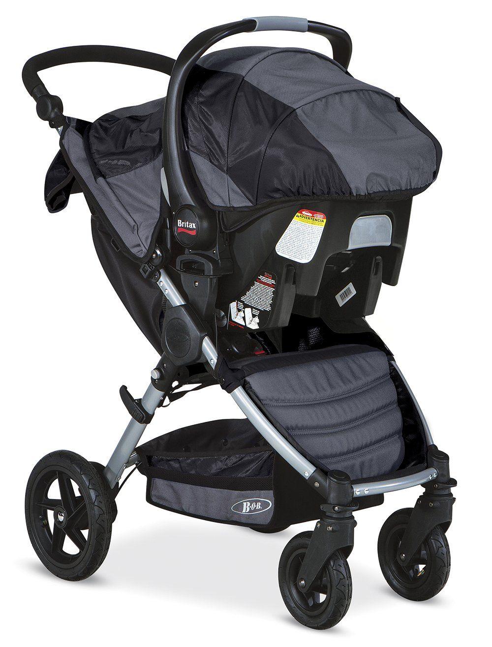 BOB Motion Travel System, Black Baby