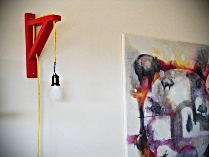 lamparas caseras Decoración de casa Pinterest Lámparas, Casero - Lamparas Caseras