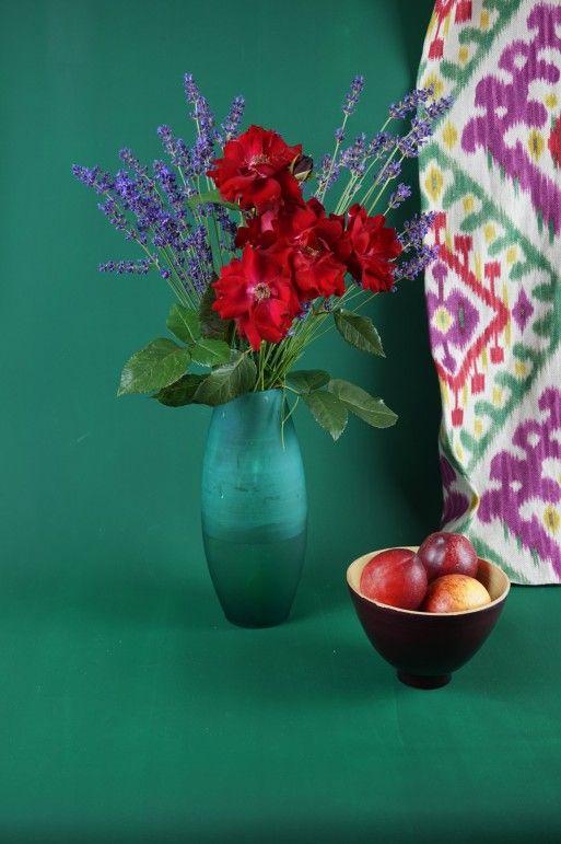 Matisse 151 - Kreideemulsion - Kreidefarbe - dunkelgruene Wand und - wandfarben wohnzimmer grun