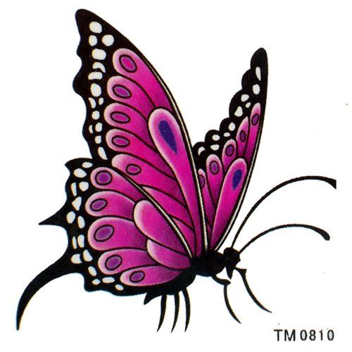 ggsell king horse waterproof temporary tattoos elegant butterfly sexy seductive bride temporary. Black Bedroom Furniture Sets. Home Design Ideas