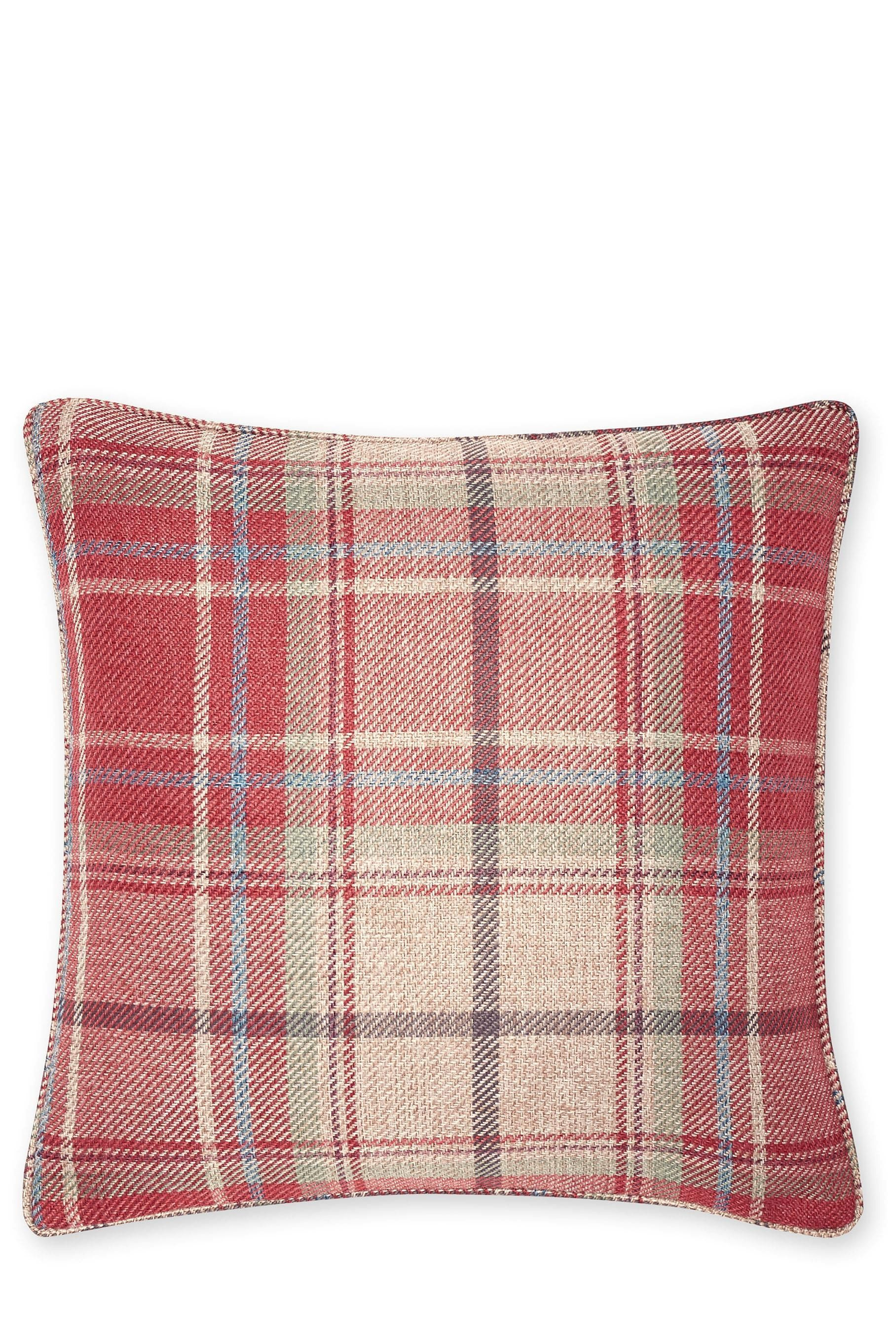 Buy Small Morcott Woven Check Cushion from the Next UK ...