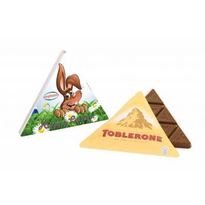 Image of Promotional Easter triangular Toblerone box