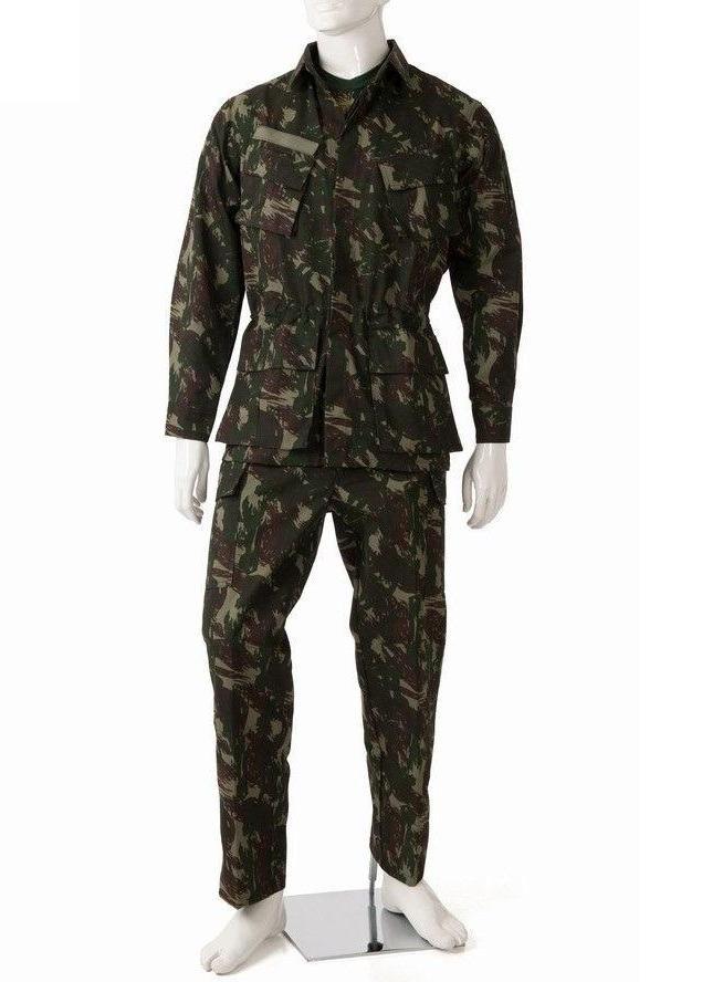 Farda Tática Uniforme Camuflado EB Paintball Airsoft SWAT 20% Off Cor   Camuflado Verde-oliva ou Preta MATERIAL  Farda Camuflada Rip Stop - Cedro  Profissioal ... b261d039579
