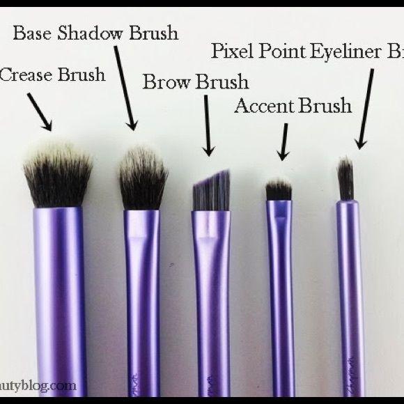 real techniques 4 brush set