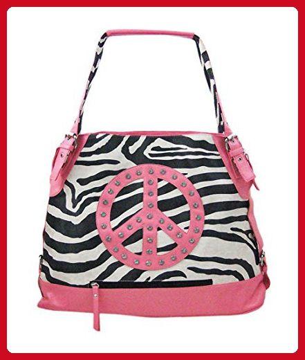 Zeckos Vinyl Womens Handbags Z532p Black Black   White Zebra Print Bucket Bag  Purse - 17 X b4d1005e15