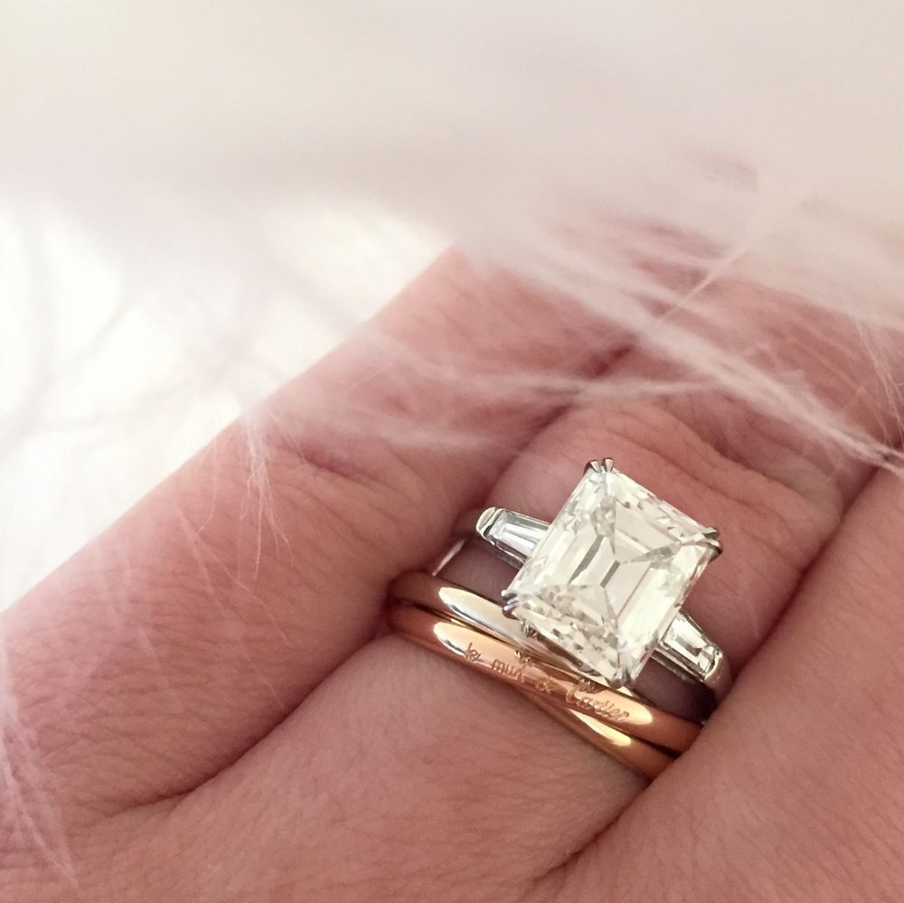 The Cut Of Diamond That Is Totally Trending Right Now - Emerald Cut ...