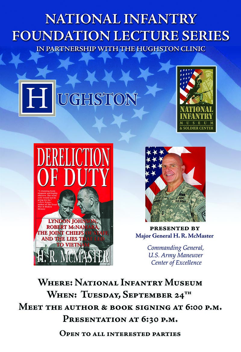 National infantry foundation lecture series presented by