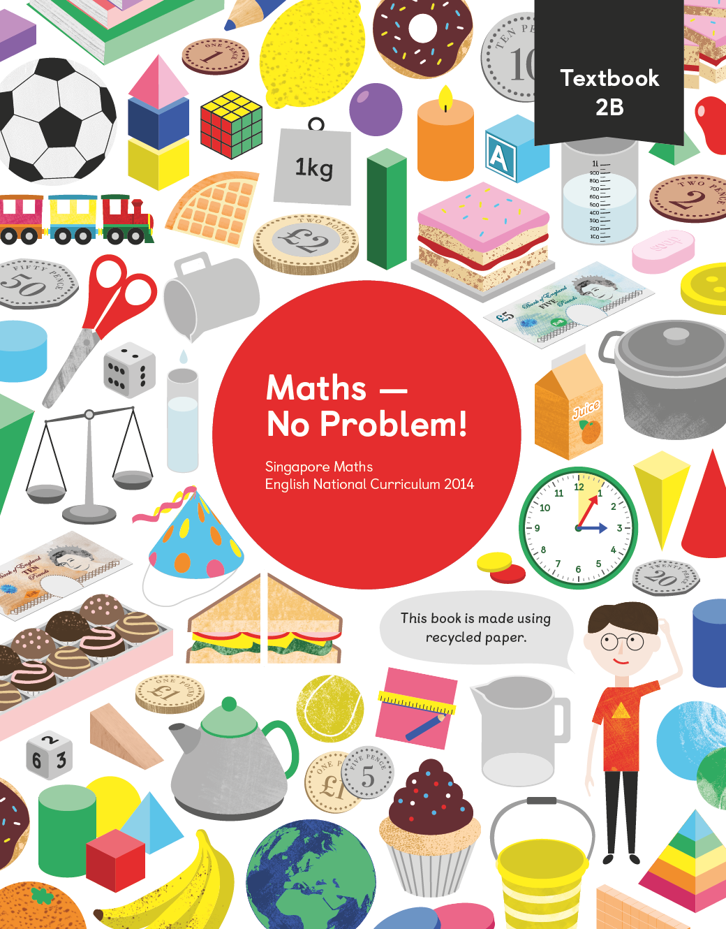 Maths No Problem Textbook 2b