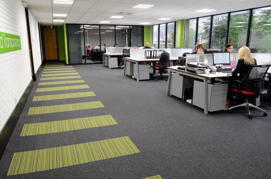 PAB Studio Offices Create Distinctive Designs With Burmatex® Carpet Tiles