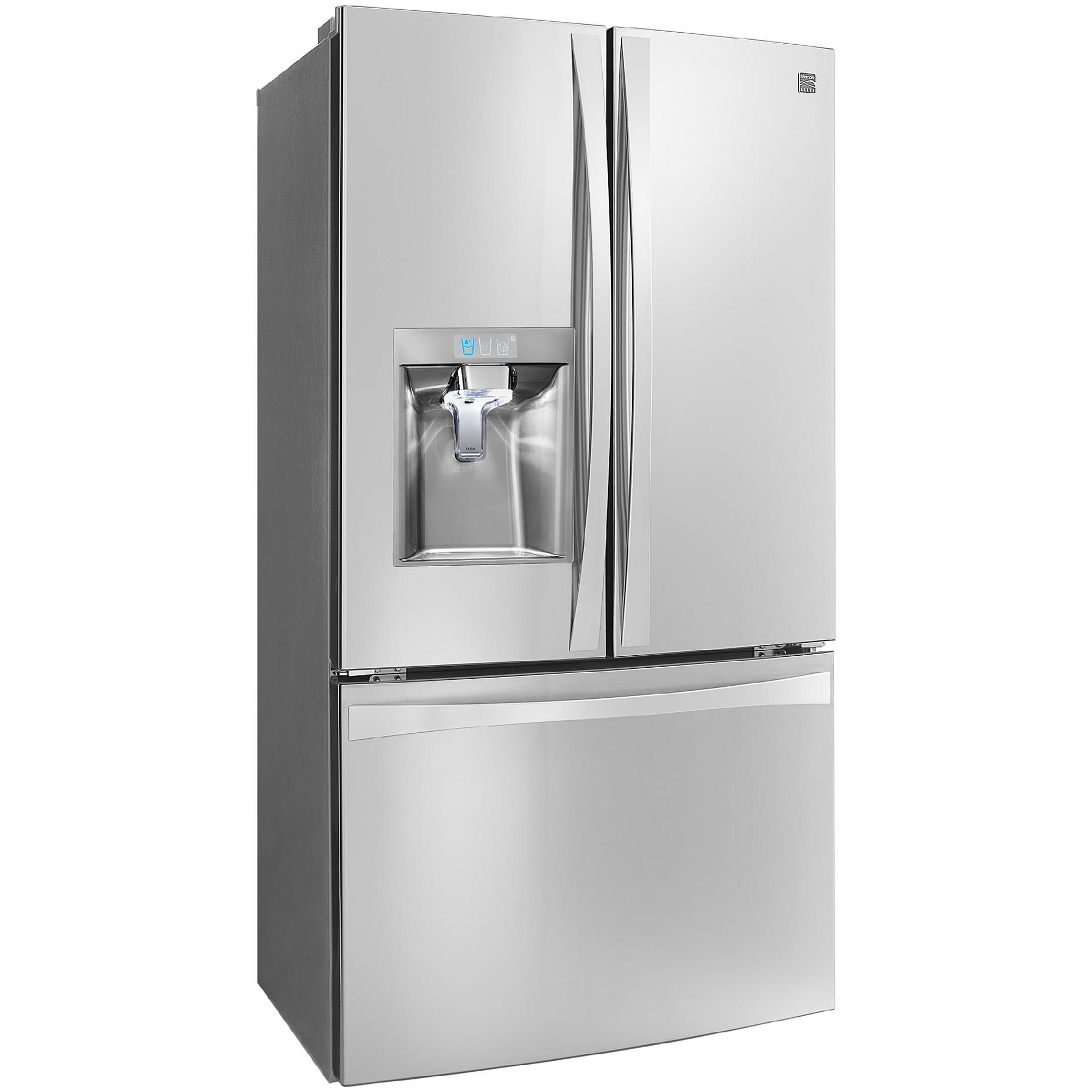 The Kenmore Elite 237 Cu Ft French Door Fridge Has More Chill