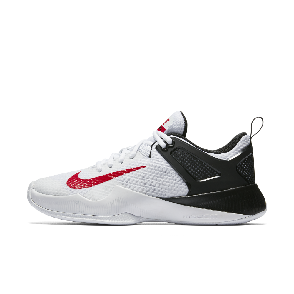 Nike Air Zoom Hyperace Women S Volleyball Shoe Size 10 5 White Volleyball Shoes Nike Volleyball Shoes Volleyball Sneakers