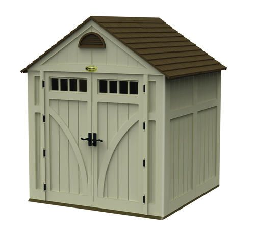 7w x 7d highland storage shed at menards 790 - Garden Sheds Menards