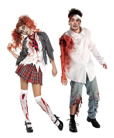 Couple Costumes Halloween Ideas Couples Costumes Couple Halloween Costumes Zombie Couple Costume