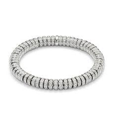 FLEX'IT SOLO bracelet by Italian jewellery manufacturer FOPE - an exclusive masterpiece with 5.8 kt. brilliant-cut diamonds