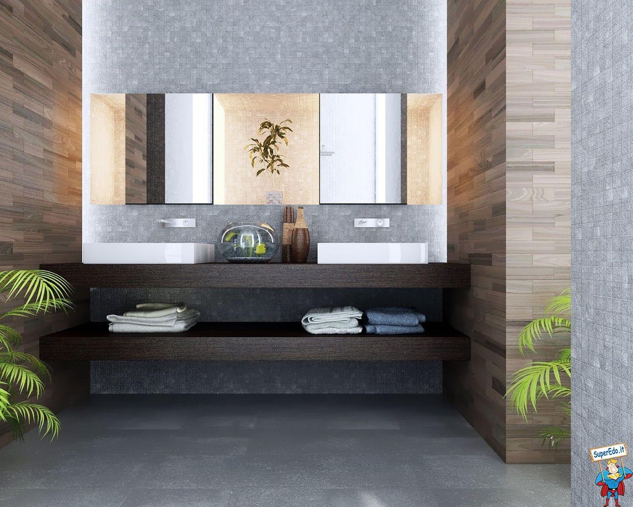 Unique Half Bathroom Ideas | Sfondi >> Design >> Sfondi Arredo Bagni ...